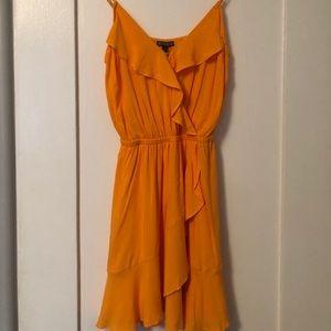 Flouncy ruffle dress